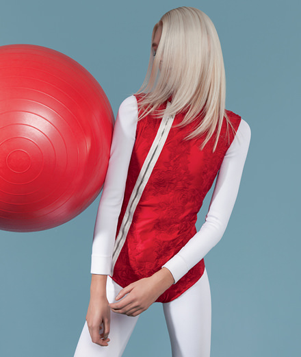 Focus on Moncler's Gamme Rouge collection by Giambattista Valli