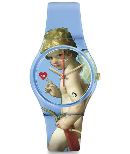 L'objet du jour : quatre montres Swatch à l'effigie des tableaux de maître
