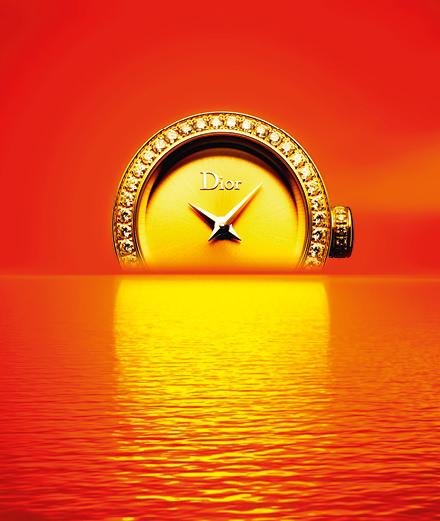 """""""Soleil couchant"""", les montres photographiées par Guido Mocafico"""