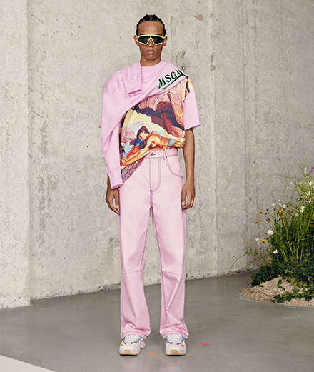 MSGM chooses freedom and simplicity for its two new collections