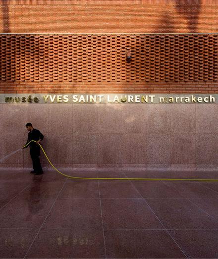 Qui sont les architectes derrière le palais Yves Saint Laurent à Marrakech ?