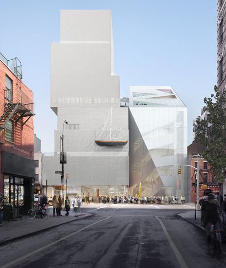 Que prévoit Rem Koolhaas pour le New Museum ?
