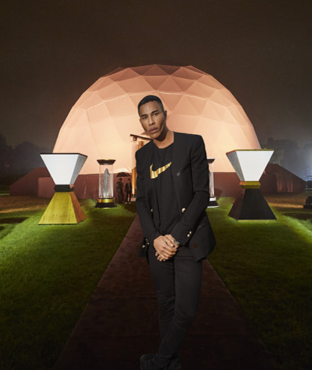 Event: the NikeLab x Olivier Rousteing party with Chris Brown and Lily Allen