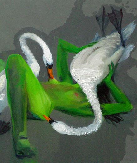 Nina Childress met la peinture dans tous ses états à la Fondation Ricard