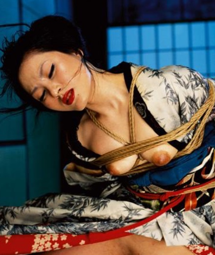 11 images of sex and bondage by Nobuyoshi Araki
