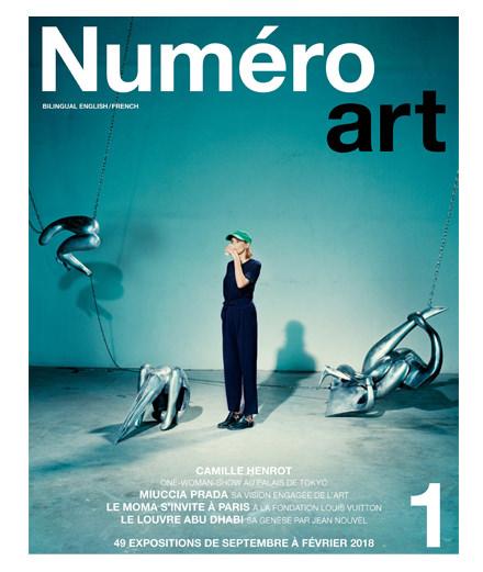 Numéro art, nouveau magazine dédié à l'art contemporain