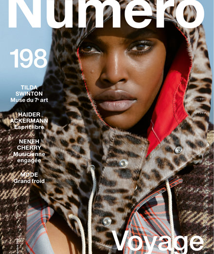 Discover the contents of November 2018's Numéro with Tilda Swinton, Haider Ackermann, Neneh Cherry…