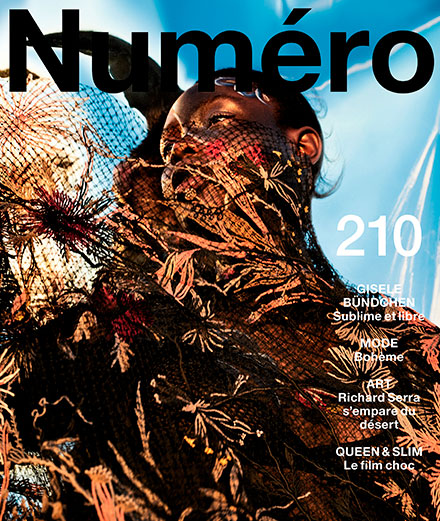 "The contents of Numéro's February 2020 ""Freedom"" issue"
