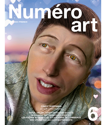 Cindy Sherman on the cover of Numéro art #6