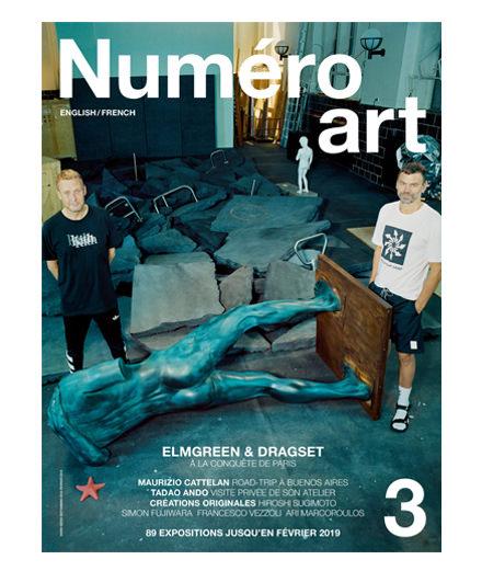 Les artistes Elmgreen & Dragset en couverture de Numéro art #3