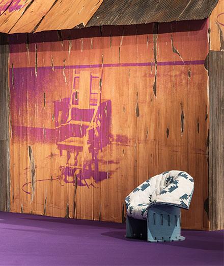 Raf Simons et Calvin Klein créent l'évènement à la foire de design de Bâle