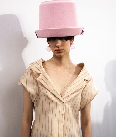 Backstage : le défilé Nina Ricci printemps-été 2020 vu par Mehdi Mendas