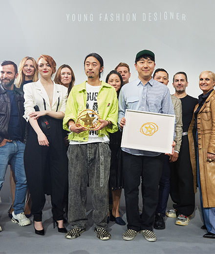 Who are the winners of the LVMH 2018 prize?
