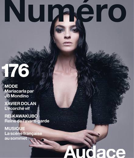 Cover Story : Mariacarla Boscono par Jean-Baptiste Mondino pour le Numéro de septembre