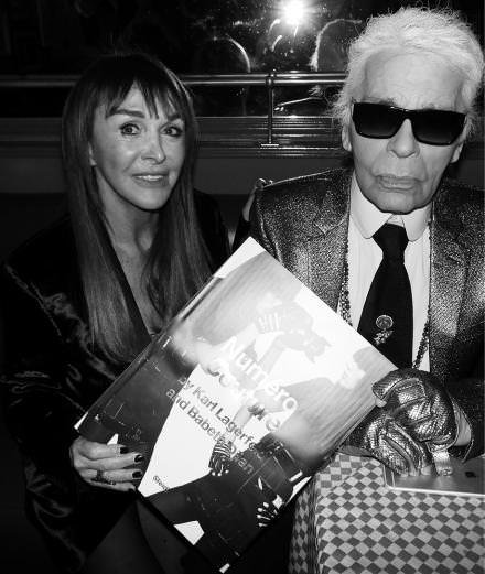Numéro's intimate party in Karl Lagerfeld and Babeth Djian's honour