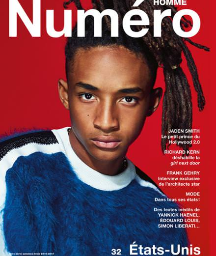 Cover Story : Jaden Smith photographed by Nathaniel Goldberg for Numéro Homme