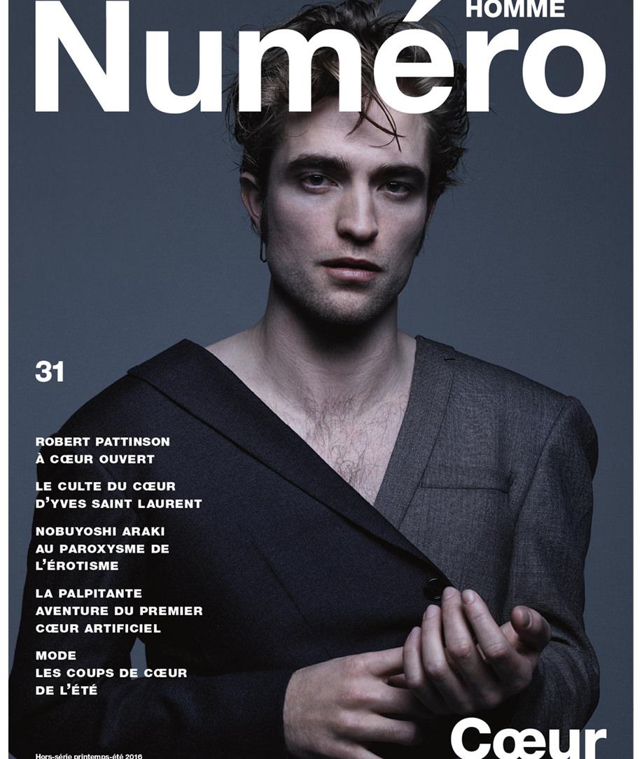 Exclusif : Robert Pattinson, nouvelle égérie Dior Homme, photographié par Jean-Baptiste Mondino pour la couverture de Numéro Homme