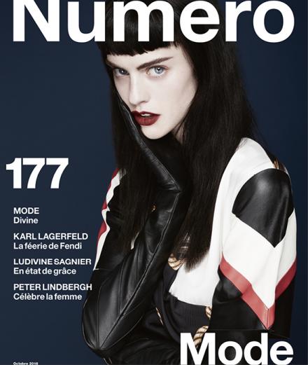 Cover Story : Sarah Brannon par Anthony Maule pour le Numéro d'octobre