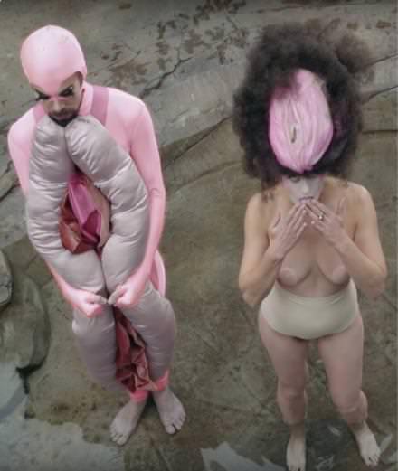 "The feminist icon Peaches' ""Vaginoplasty"""