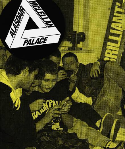 Les skaters de Palace photographiés par Alasdair McLellan