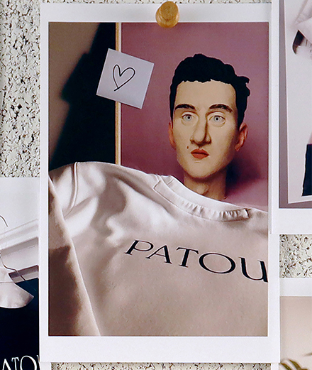 La maison Patou vend des vêtements pour lutter contre le Covid-19