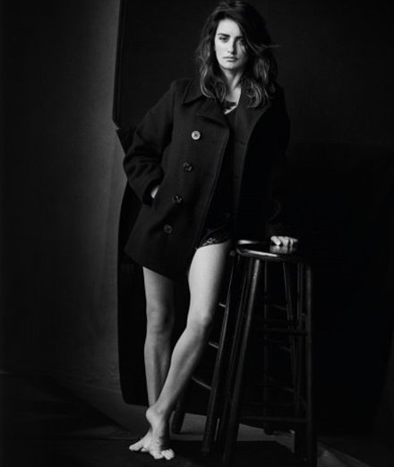 """Shadows on the Wall"": Peter Lindbergh captures today's great actresses"