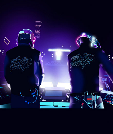 Les Daft Punk s'emparent de la Philharmonie de Paris