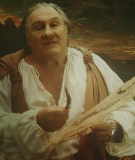 Depardieu, Katerine et Lomepal comme vous ne les avez jamais vus