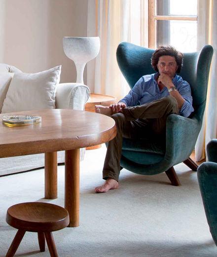 Que cache l'appartement de Philippe Ségalot, célèbre art advisor proche de François Pinault ?