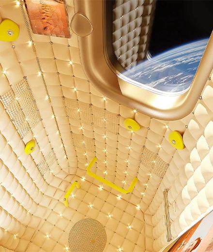 Quel célèbre designer réalisera le premier hôtel dans l'espace ?
