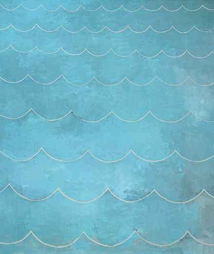 Le point de vue d'Eric Troncy : les monochromes océans de Loïc Raguénès