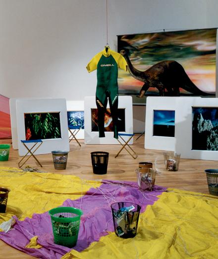 En 1989, quatre artistes dénoncent déjà l'urgence climatique