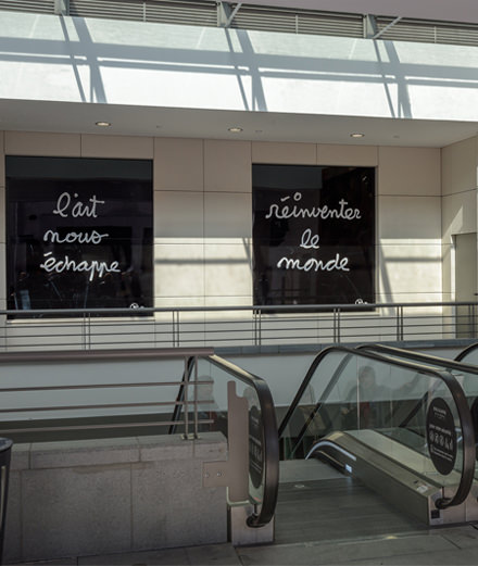 Is the shopping mall the future of art?