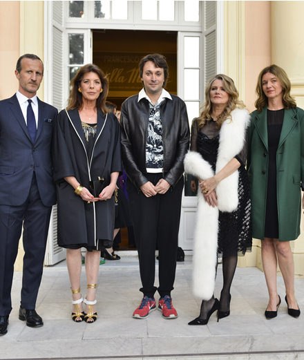 La soirée Prada en l'honneur de l'artiste Francesco Vezzoli à Monaco