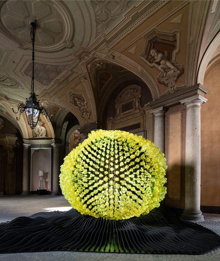 Fantastic and monumental: the Lasvit light presentation at the Milan Furniture Fair