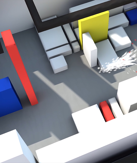 À quoi ressemble le premier jeu vidéo du Centre Pompidou?