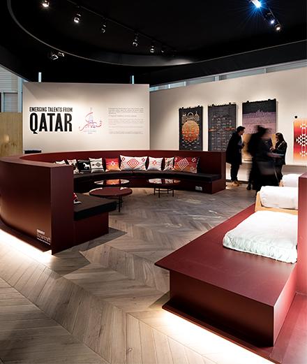 Après le football, le Qatar investit le design