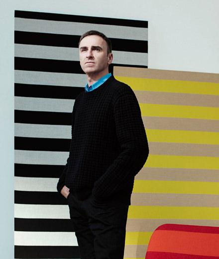"""""""J'aime les coussins et les couvertures."""" Raf Simons nous parle de sa collaboration avec Kvadrat"""