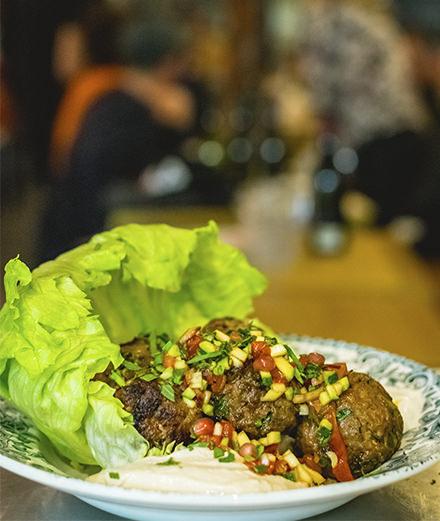 Redécouvrir la cuisine israélienne chez Blitz