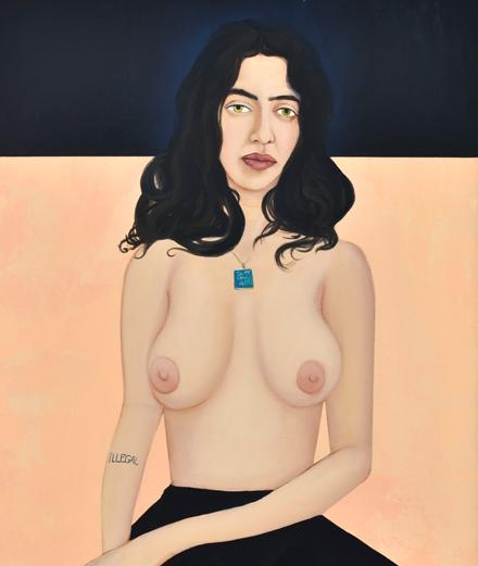 """Rencontre avec Apolonia Sokol : """"J'ai besoin de la peinture pour survivre."""""""