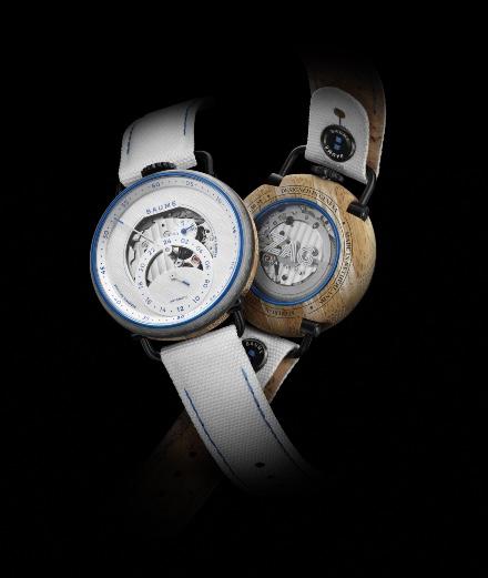 La montre Baume x Zag en skis recyclés