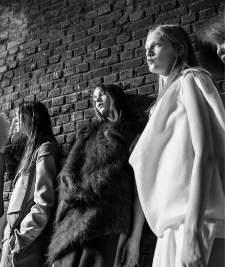 Backstage: inside Rick Owens fall-winter 2016-2017 runway show