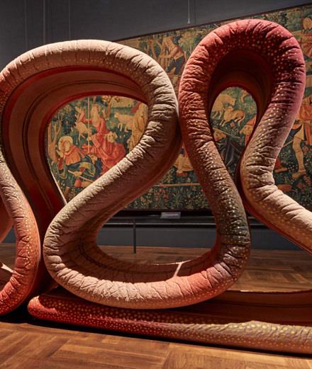 L'installation complètement folle du designer Ross Lovegrove