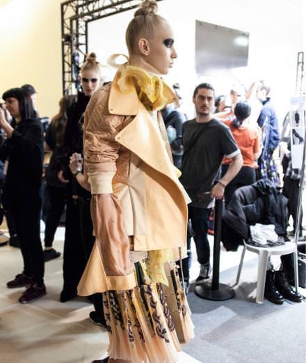Backstage: inside Sacai fall-winter 2016-2017 runway show