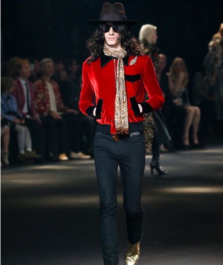Le défilé Saint Laurent au Palladium à Los Angeles