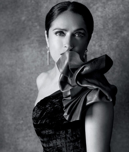 Interview with Salma Hayek, Mexican star fighting for women's rights