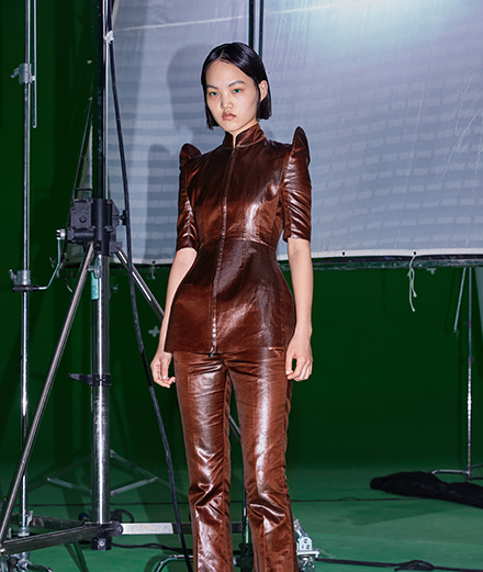 Chinese artist Zhang Ding films Sankuanz spring-summer 2021 collection