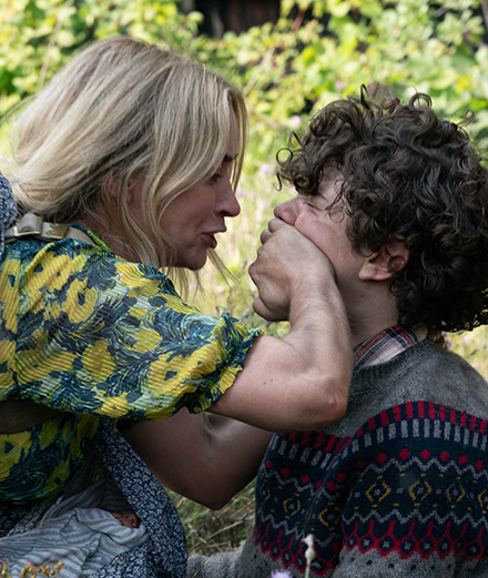 "Cillian Murphy and Emily Blunt are in mortal danger in ""A Quiet Place 2"""