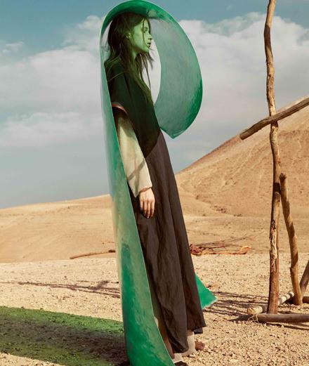 """La série mode """"50 degrés à l'ombre"""" par Katja Mayer"""