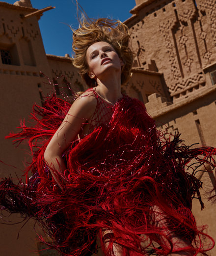 """Envol"", a fashion story by Txema Yeste"